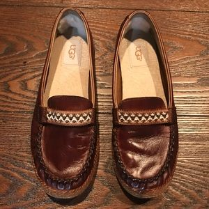 UGG Australia Leather Loafers